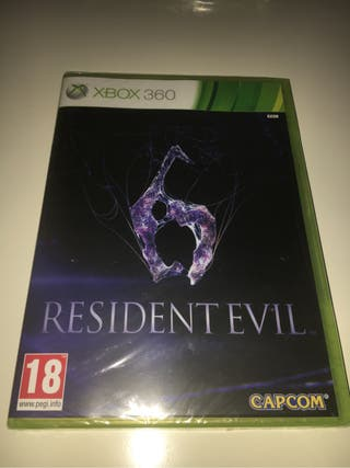 Resident evil 6 XBOX 360 Español nuevo precintado!