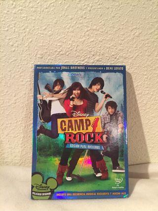 Dvd de Camp Rock.