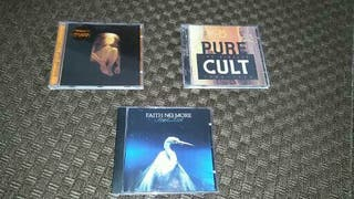 Alice in Chains,Faith no More,The Cult