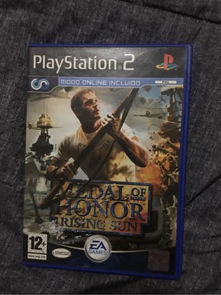 Juego PS2 Medall of Honor
