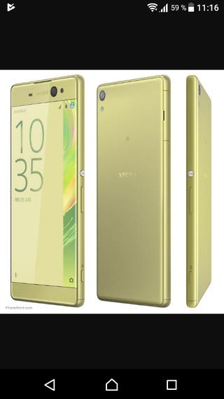 Sony xperian ax ultra plus