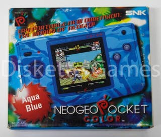 NeoGeo Pocket Color Aqua Blue PAL España