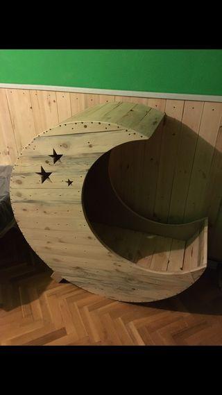 Muebles de palet (Cuna artesanal)