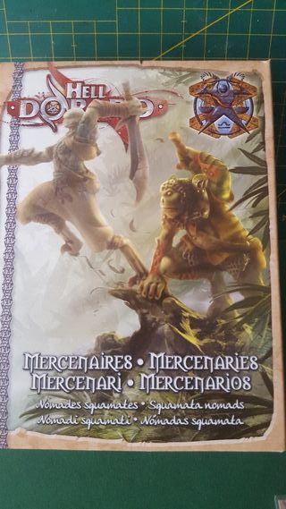 Miniaturas Hell Dorado Mercenarios