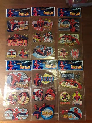 stikers pegatinas the spectacular spiderman