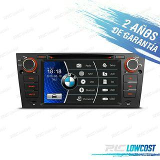 "RADIO 7"" GPS ESPECIFICO BMW SERIE 3 E90/92 USB HD"