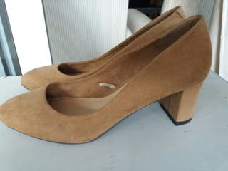 zapatos camel sfera 38