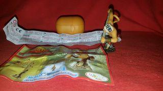 Figura Kinder Sorpresa Maestro Mono Kung Fu Panda