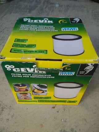 filtro aspirador Cevick