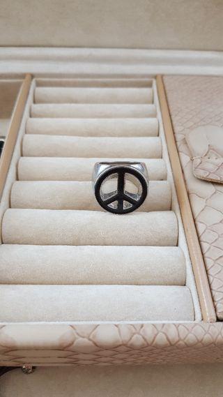 Anillo Simbolo de la Paz