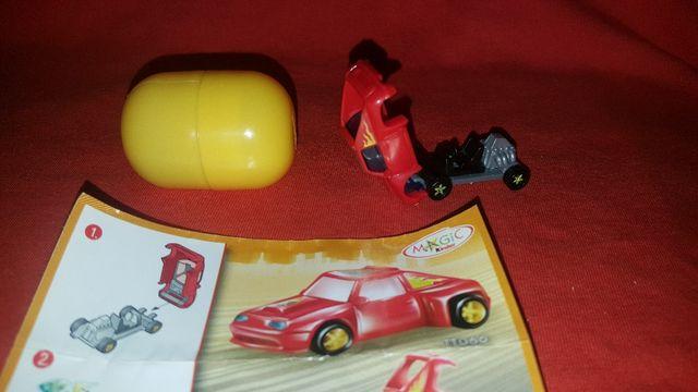 Figura Kinder Sorpresa Coche Rojo