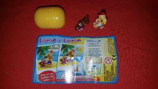 Figura Kinder Sorpresa Chicho Y Chucho