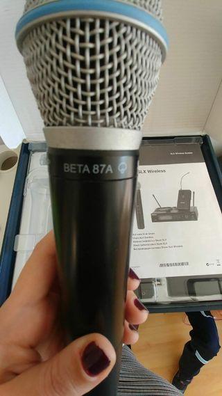 Micrófono Shure 87a beta