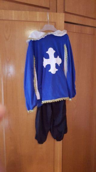 traje de mosquetero niño