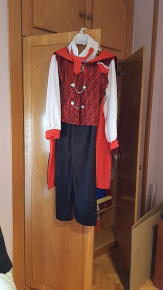 traje de dracula niño