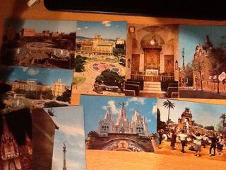 Postales Barcelona. Antiguas