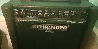 amplificador behringer gm108