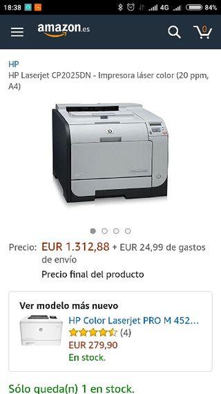 Impresora laser color de segunda mano en Barcelona en WALLAPOP