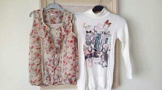 Lote blusa y camiseta 4€ las dos