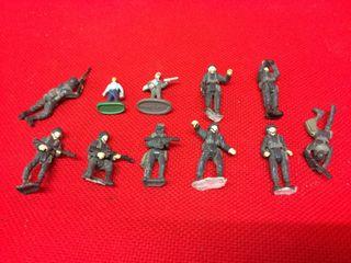 Soldados maqueta