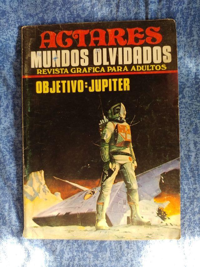 Revista grafica Agtares Mundos Olvidados