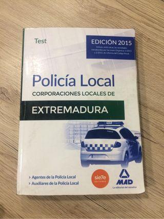 Libro oposicion POLICIA LOCAL