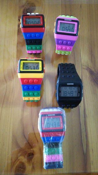 Relojes lego NUEVOS