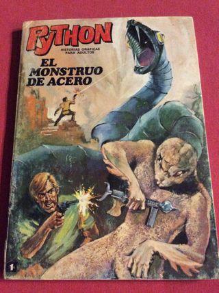 Comic tebeo python