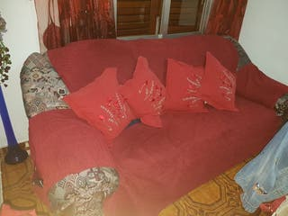 sofa de 3 plazas +funda