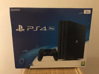 PS4 Pro 1TB - Brand New & Sealed