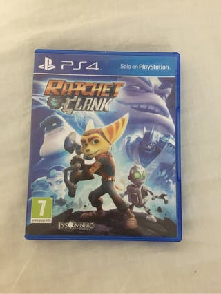 Rachet and clank ps4