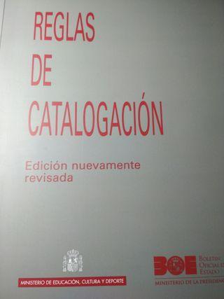 Reglas de catalogación