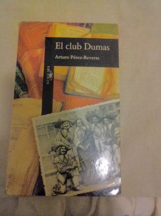 libro ,El club de Dumas