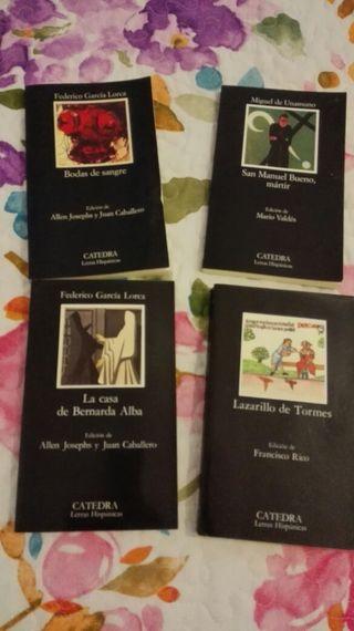 Libros de lectura (ESO/Bachillerato)