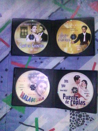 peliculas dvd Antonio Molina y Marisol