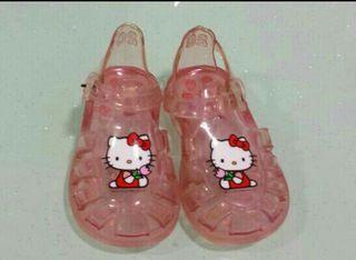 Sandalias Hello Kitty Rosa Nº 20