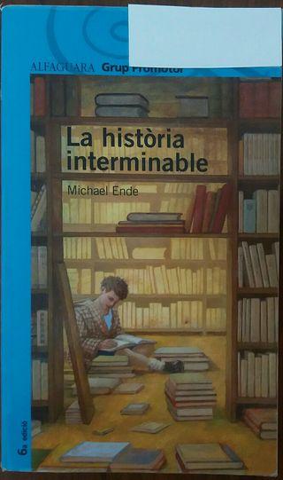 """Libro lectura """"La historia interminable """""""