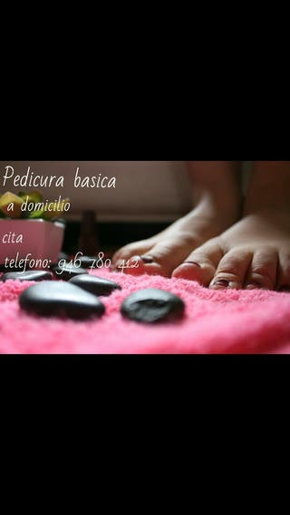 pedicura a domicilio