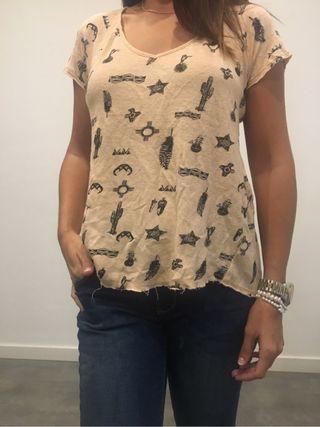 Camiseta mujer zara
