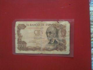 billetes de las antiguas pesetas