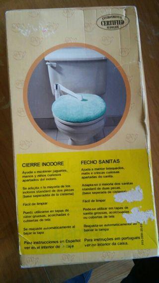 seguro wc para niños