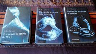"""libros""""Cincuenta sombras de grey"""""""