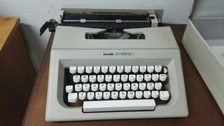 maquina escribir olivetti lettera 25