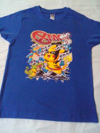 camisa pokemon