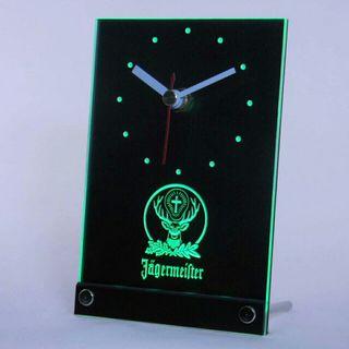 Reloj despertador 3D Led Jägermeifter