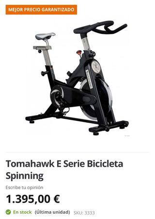 BICICLETA SPINNING TOMAHAWK SERIE S