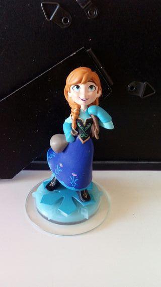 Figura Disney Infinity Anna de Frozen.