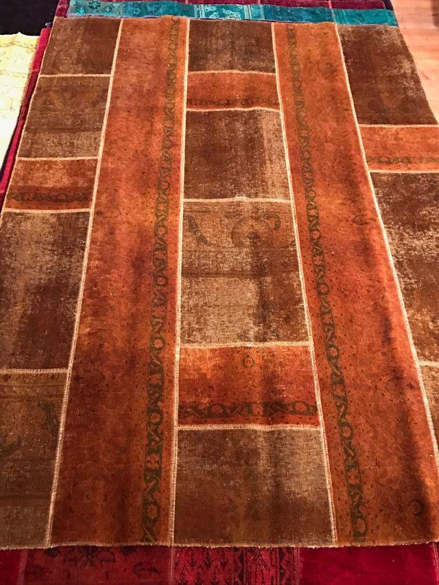 Vintage alfombra persa