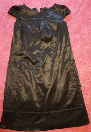 vestido marca vidrio.talla S