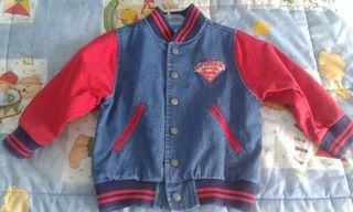 chaqueta tejana 2 años